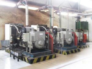 Mengintip Kinerja Genset pada Engine Room Pabrik Kelapa Sawit