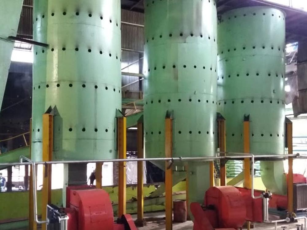 Sparepart Kernel Silo Heater Di Pabrik Kelapa Sawit