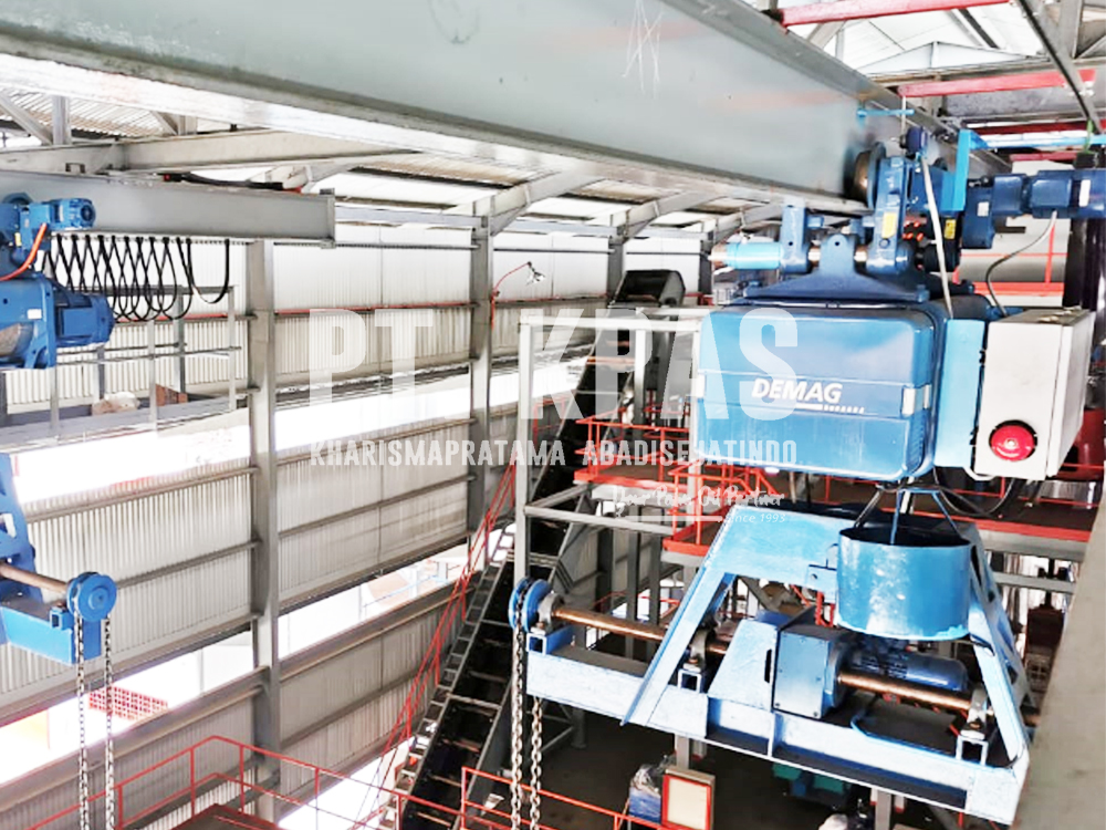 Jual INP Beam Untuk Runway Crane Di Pabrik Sawit