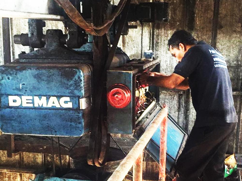 Jual Sparepart Demag Crane Di Pabrik Sawit